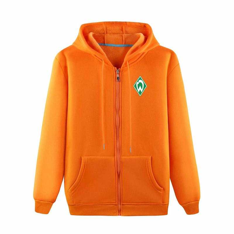 2020 SV Werder Bremen New Trend Sooped Sudadera Chaqueta de fútbol Chaqueta de fútbol Jacket Fashion Cotton Football Sports Chaqueta