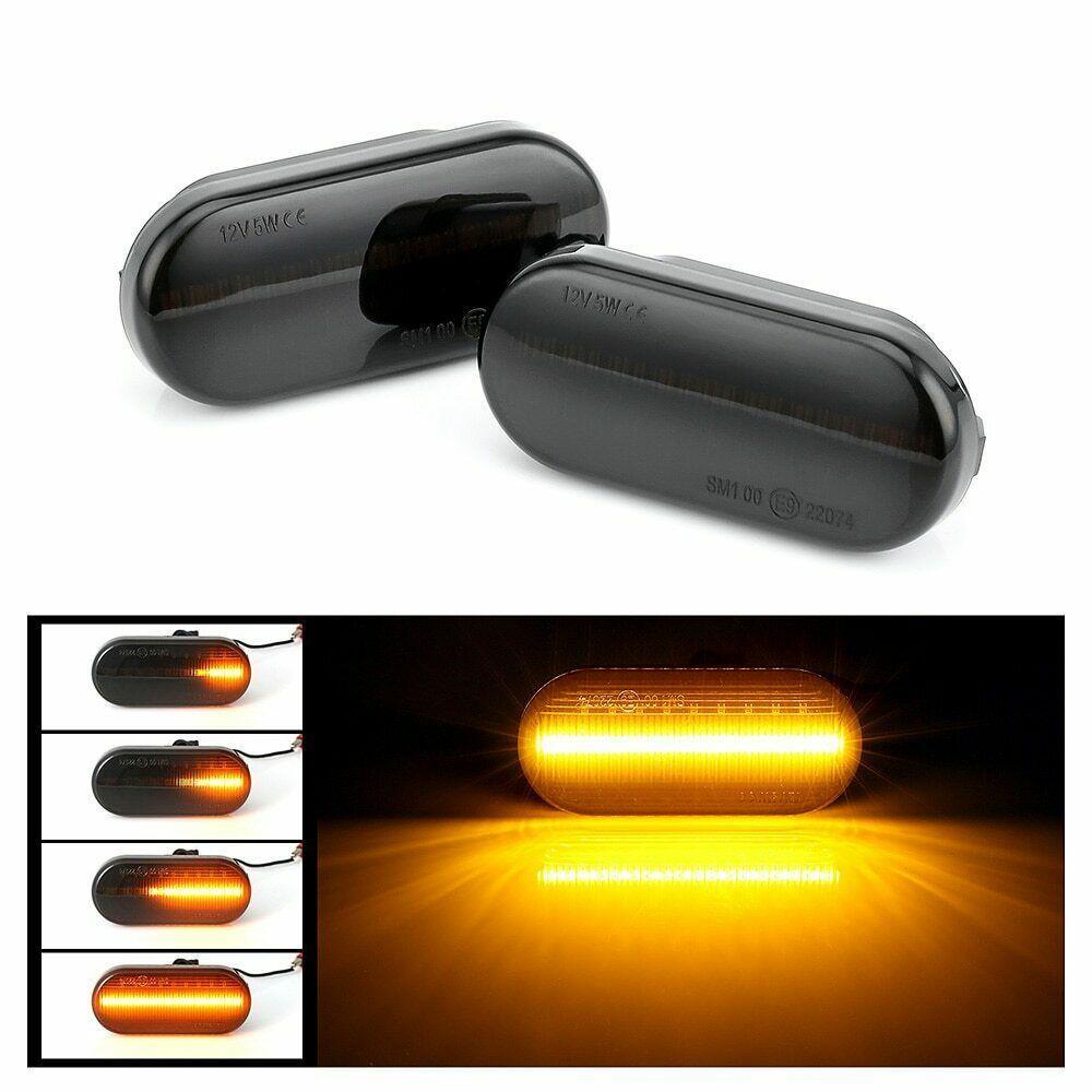 순차 LED 사이드 펜더 마커 라이트를 들어 포드 피에스타 퓨전 초점 좌석 레온