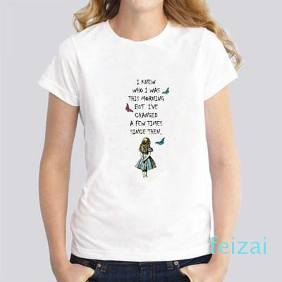 Hot Sale Cute Letter Print T-Shirt Summer Fashion Women T-Shirt Cute Girl Casual Tops Hip Hop Style Cool Woman Tees