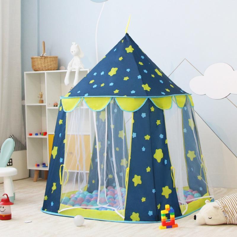 아이 로켓 선박 플레이 텐트 우주선 어린이 게임 선물을 위해 집 우주선 텐트 휴대용 초경량 캠핑 텐트 플레이 접는