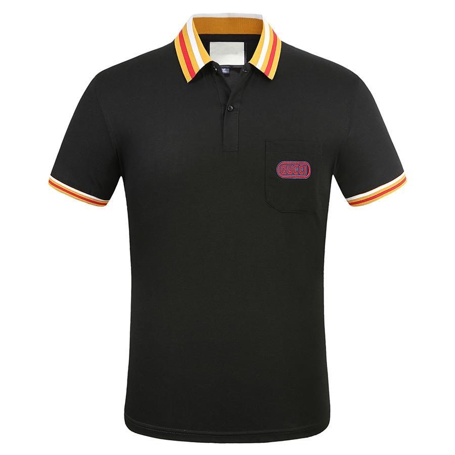 Hombres camisetas hombres polo camiseta Italia para hombre diseñadores polo camisas de moda bordado de moda de calidad superior ropa de cotomo camisetas camisas Tamaño M-3XL