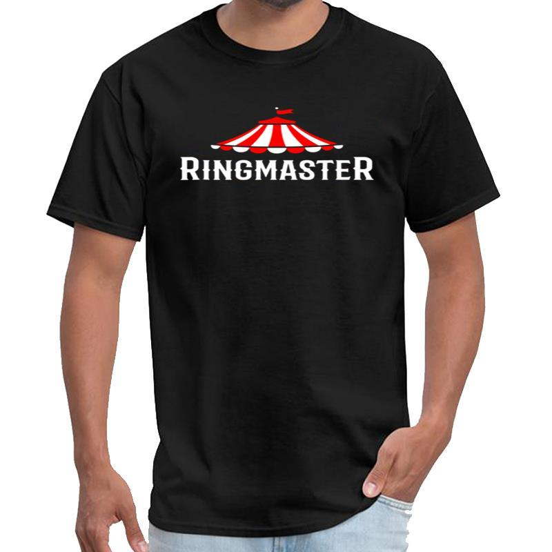 Mode Cirque Ringmaster Chemise Showman Costume Enfants Femmes Hommes t-shirt en coton cadeau mâle t-shirt femme 3XL 4XL 5XL 6XL Outf