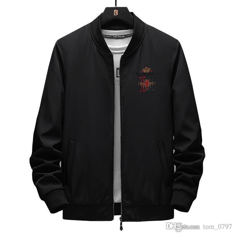 Hot Fashion Jacket Men Jean Jacken New Garment Washed Denim Herren Mantel Designerkleidung für Männer Denim Jacke Männer Mantel