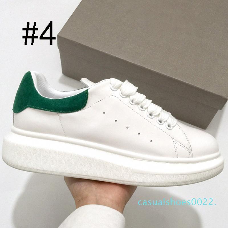 kadın erkek moda deri ayakkabı için Tasarımcı ayakkabı rahat ayakkabı C22 artırılması kırmızı siyah kadife Kalın tabana vurma Yükseklik yansıtıcı