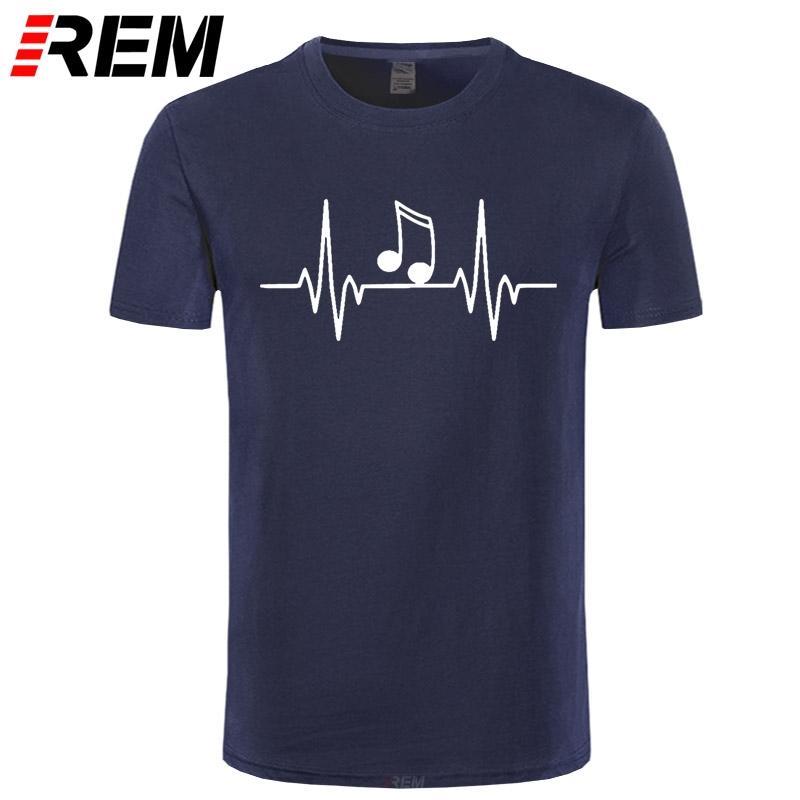 Музыка Пульс сердечный ритм, Beat, танец T-Shirt, подарок для взрослых Дети хза-5XL Повседневной футболочки