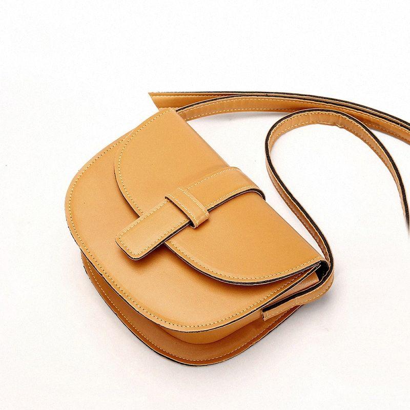Moda bolsos de las señoras de las mujeres bolso de cuero del totalizador del hombro del monedero del mensajero de la taleguilla Bolsas XyIL #