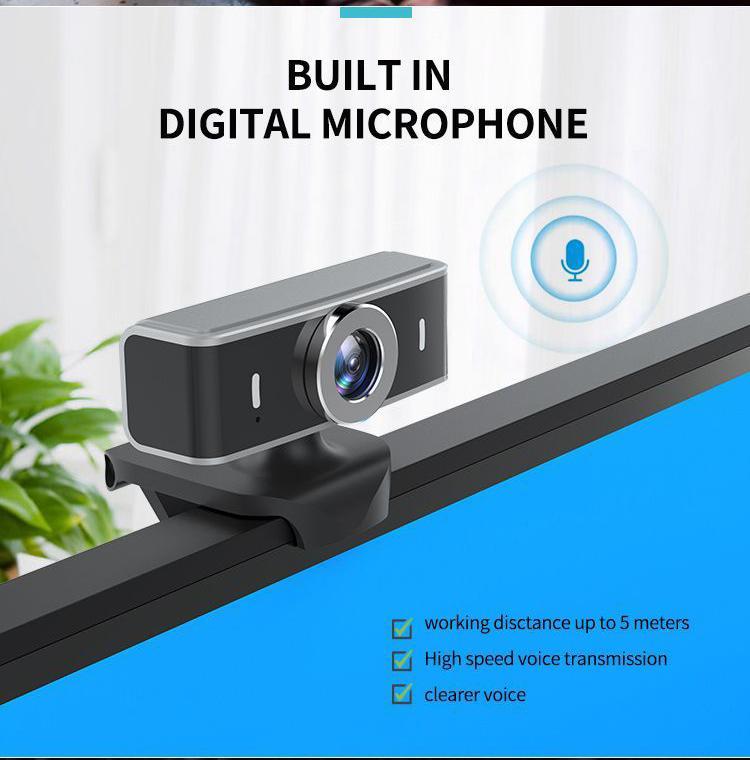 A10 HD 1080P Компьютеры Фото- Free Drive Веб-камера с микрофоном USB интерфейс Ручная фокусировка Подходит для Live Video 2020 Новый