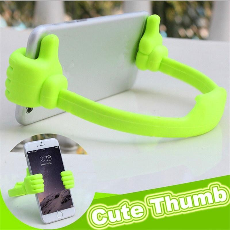 Cgjxs Originality Mobile Phone Holder Thumbs Modeling Phone Stand Bracket Holder Mount For Cell Phone Tablets On Sale
