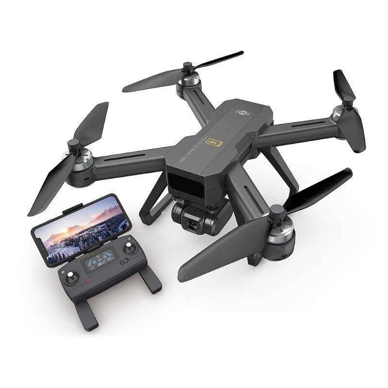 4K 5G WiFi Ajustable HD Geniş Açı Kamera Optik Akış Konumlandırma Fırçasız Quadcopter Helikopter ile Hoshi MJX Drone GPS RTF