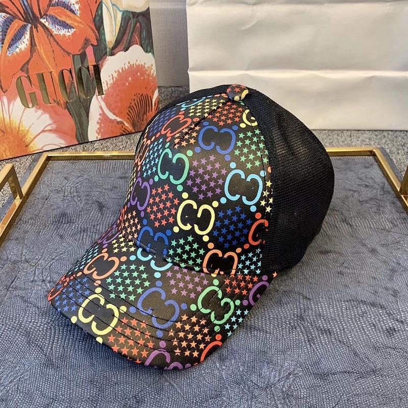 BtdaC Primavera / Estate 2020 nuovo doppio stampa psichedelica cappello da sole salto caramelle berretto da baseball di modo cappello da baseball sole via le riprese ombrellone c