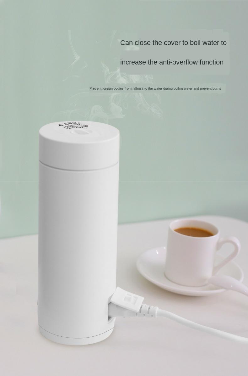 غلاية المحمولة المحافظة على حرارة سفر متكاملة الكهربائية كوب ماء ساخن المنزل عنبر صغير طالب الماء الساخن التلقائي