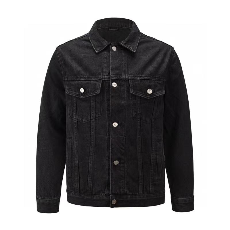 Высокое качество мужчины плотно облегающие пригонки джинсовой куртки мода мужчины джинсовой куртки размер куртка S XL