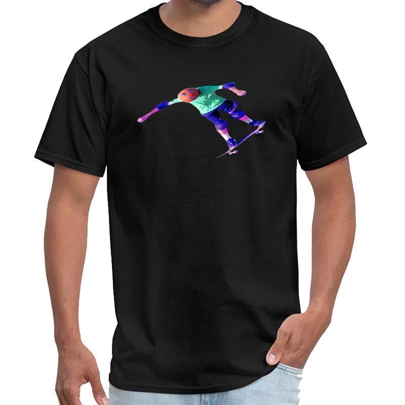 Смешные Скейтборд Kid юн постное тенниска женщин тигр король футболка большой размер S ~ 5xl хип-хоп