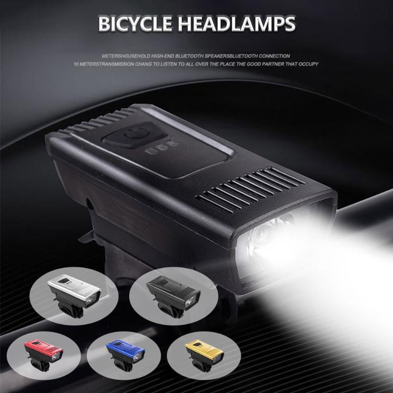 Bike Lights Bicycle Accessories Light High Brightness USB Rechargeable Headlight 4 Lighting Modes Warning For MTBs Road Bikes