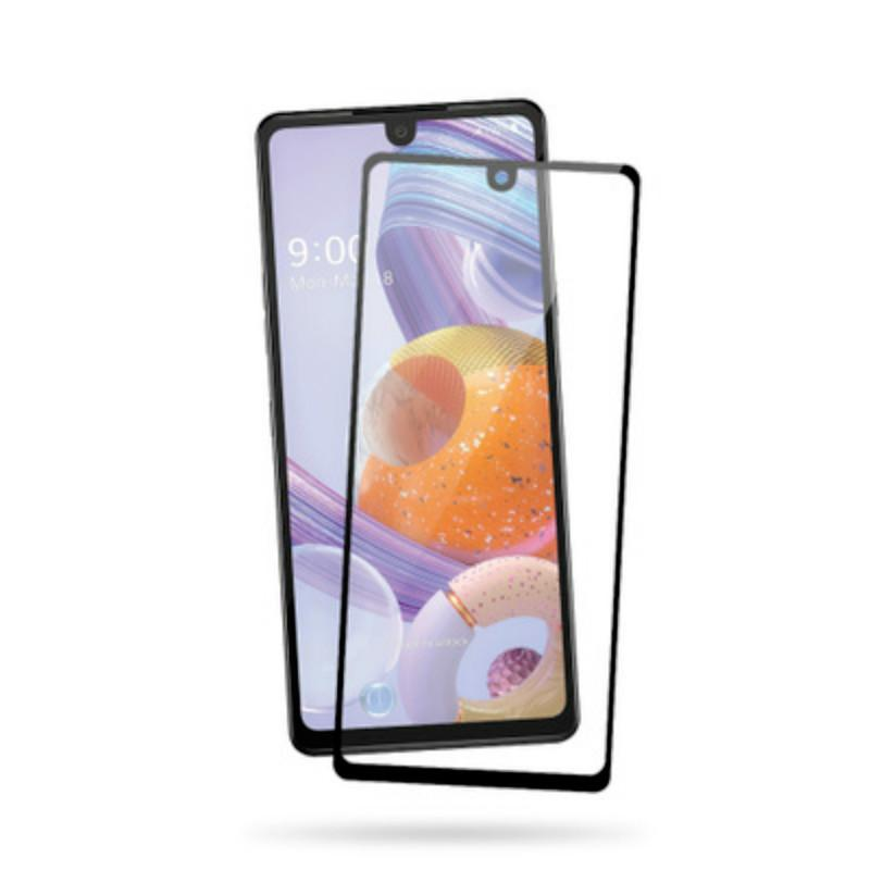 Full Cover Bubble Free Antry strate Закаленное стекло мобильного телефона пленки закаленного стекла Protector для LG Stylo 5 6 K40 K51 Aristo5 +