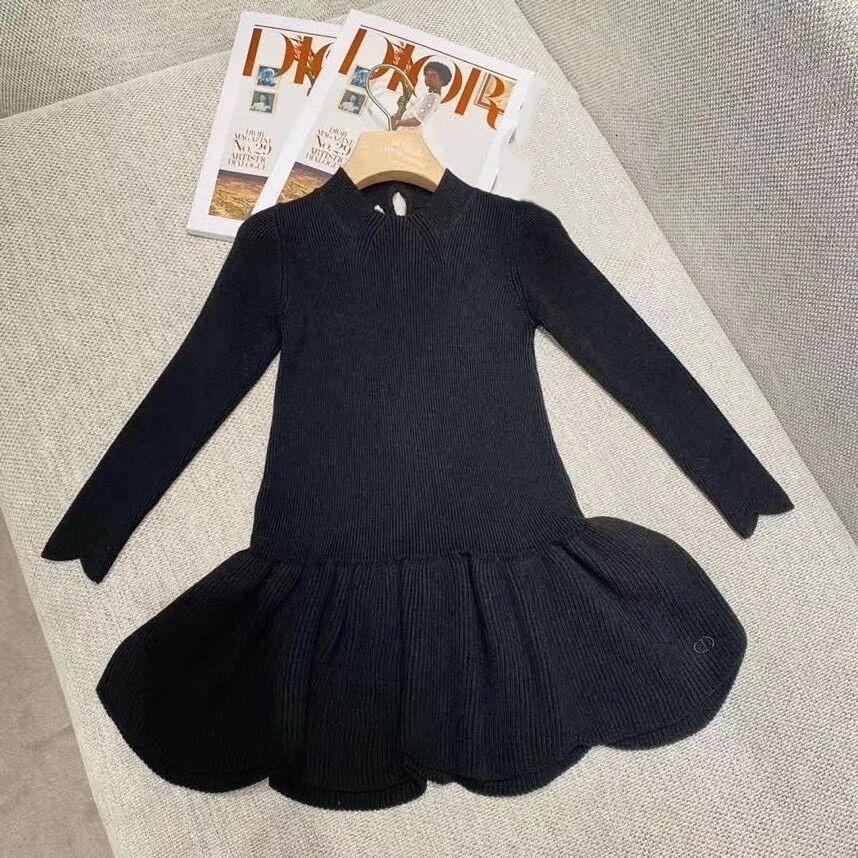 2020 New Girls Dress Bambini Chlidren Dress Beautiful Princess Dress