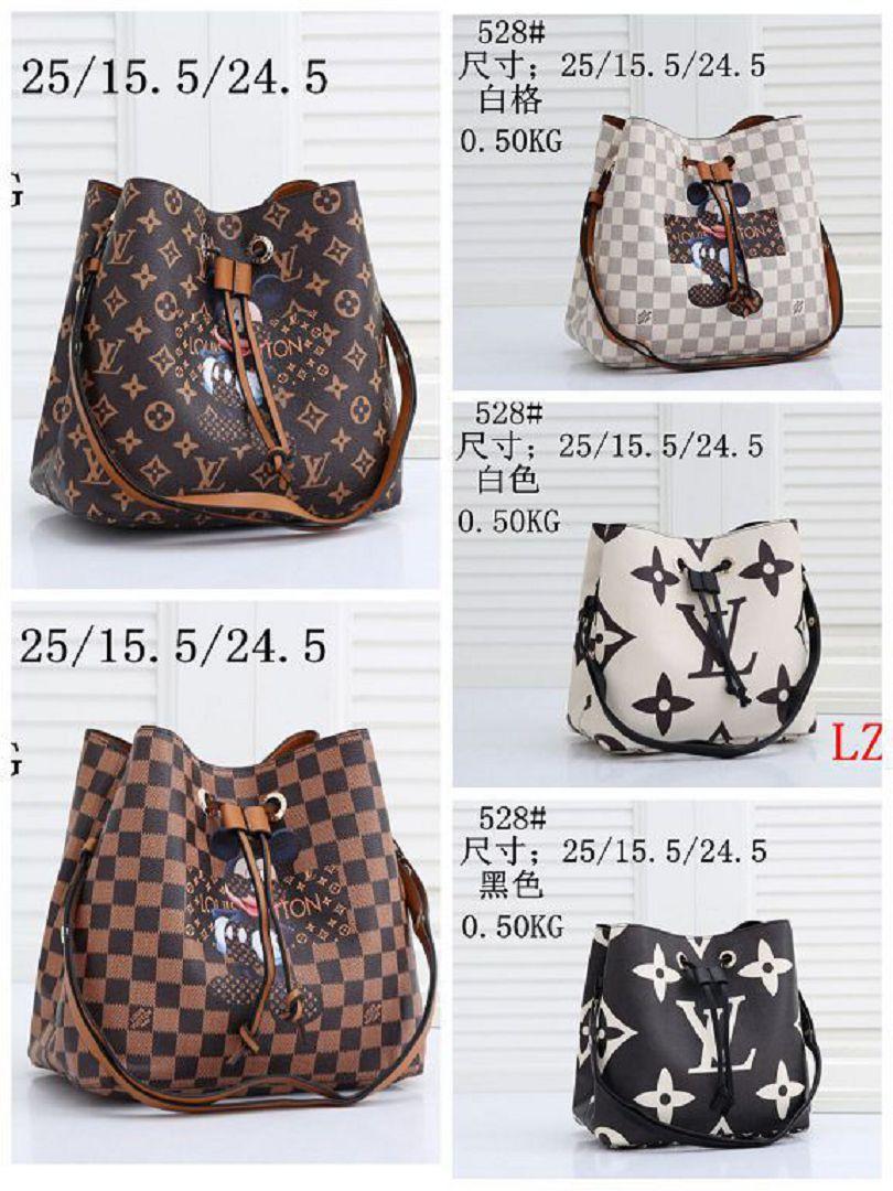 528# Backpack NEW Styles Bag Bags LZ Single Shoulder Fashion Tote Bag Ladies Bags Handbags Women Jpfln