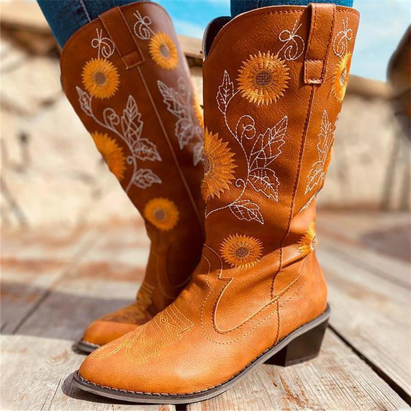 mulheres meados de bezerro botas botas chaussure saltos do vintage PU gladiador de couro mais matin tamanho sapatos de mulher zapatos mujer sapato D1612
