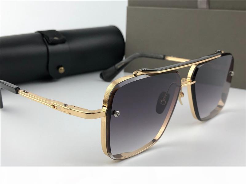 lüks güneş gözlüğü erkek gözlük erkek tasarımcı güneş gözlüğü kadınlar lüks tasarımcı güneş gözlüğü erkek moda stil kare çerçeve UV 400 lens