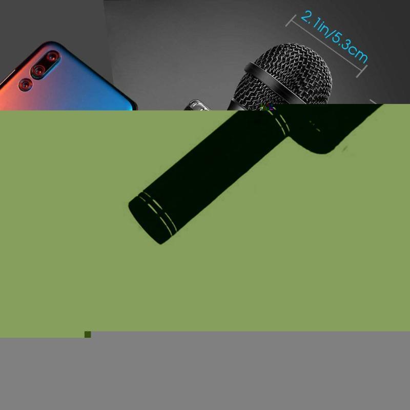Player KTV senza fili del microfono di karaoke portatile USB Mic altoparlante portatile di Natale Birtay del partito della casa