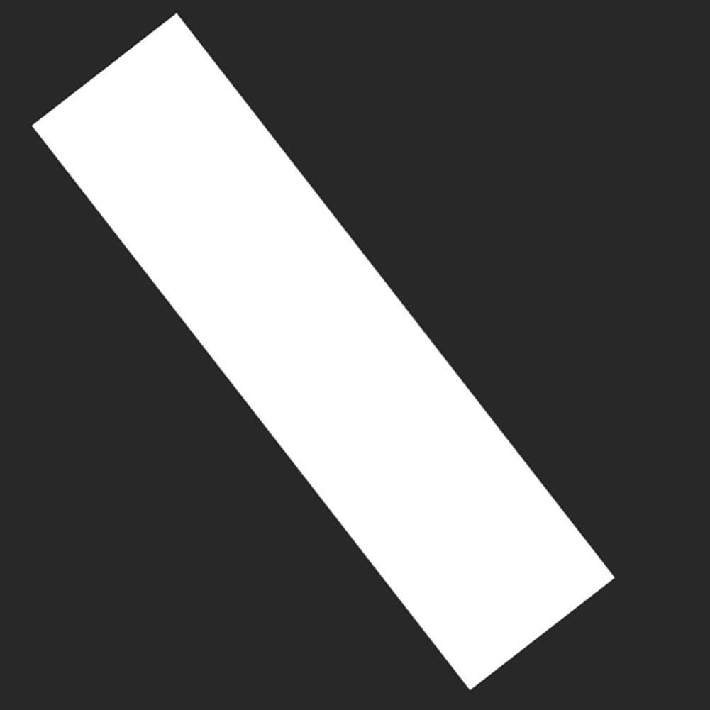 ПВХ Утолщенного Double Rocker Longboard сцепление лента Клей наждачной Прозрачный