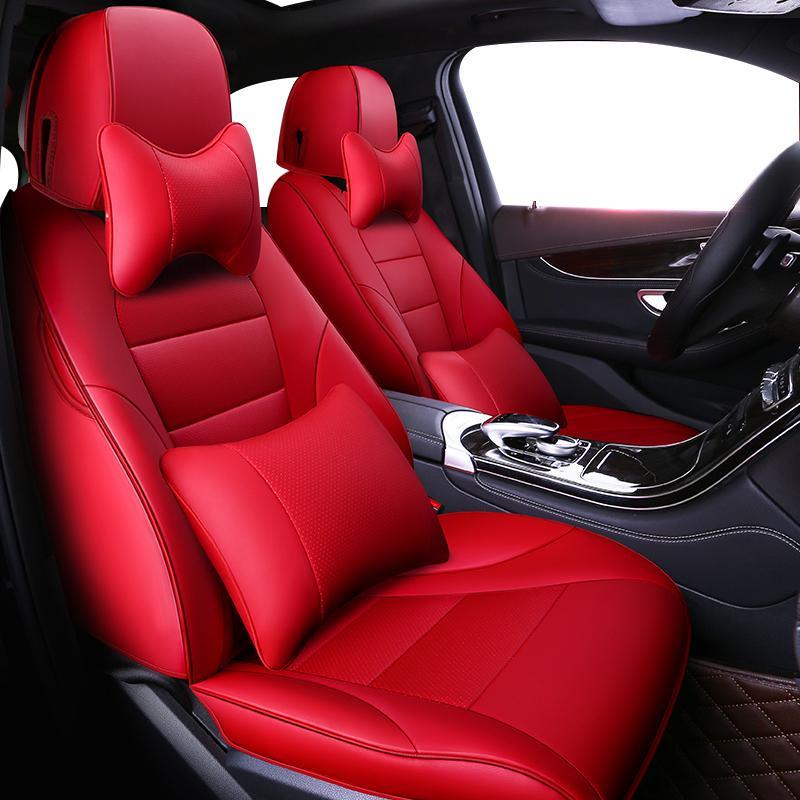 أغطية مقاعد السيارات ZHOUSHENGLEE مخصص لES ES250 ES350 ES240 ES200 ES260 ES300h CT CT200h الأغطية سيارات سيات
