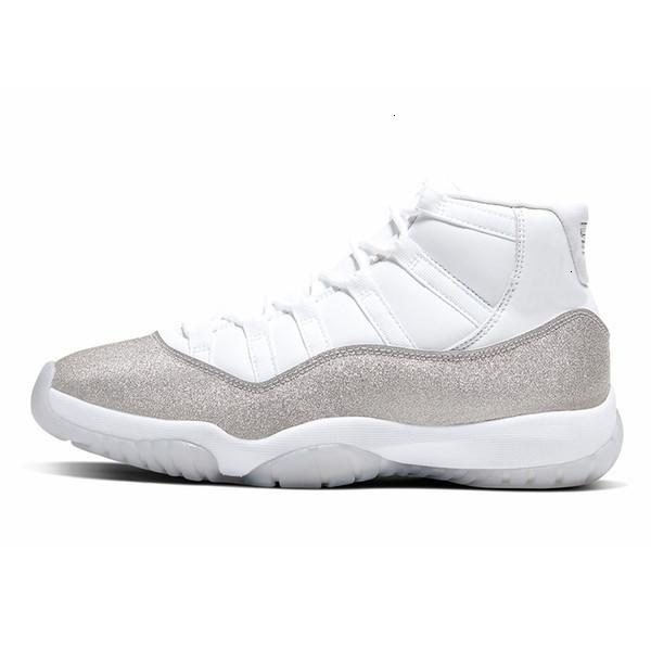 Zapatos de baloncesto Concord 11 11s blanca Bred para hombre azul metálico de plata Low Cap y el vestido 45 23 Space Jam Las mujeres Jumpman Deportes zapatillas de deporte