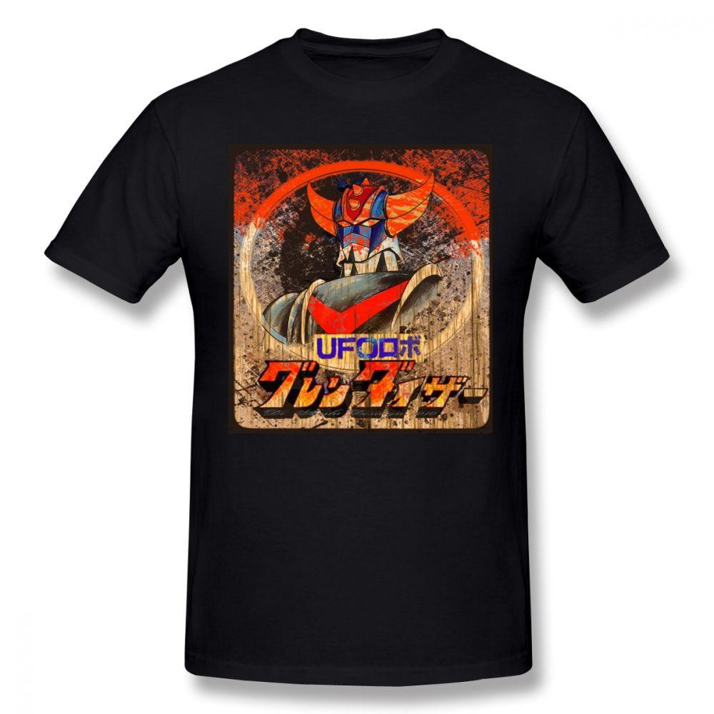 Goldorak T-shirt Goldorak T-shirt 100% coton de mode T-shirt manches courtes Homme T-shirt graphique mignon