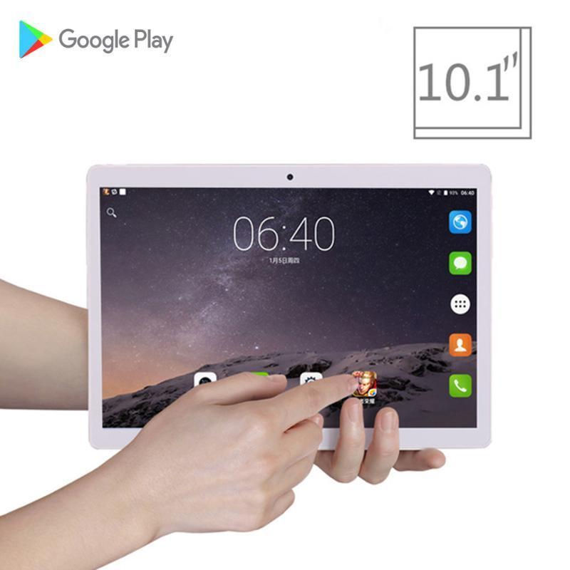 2020 Global Phone versão 4G Tablet de 10,1 polegadas tablet 2.5d vidro pc octa núcleo 4GB RAM android barato jogos GPS wi-fi