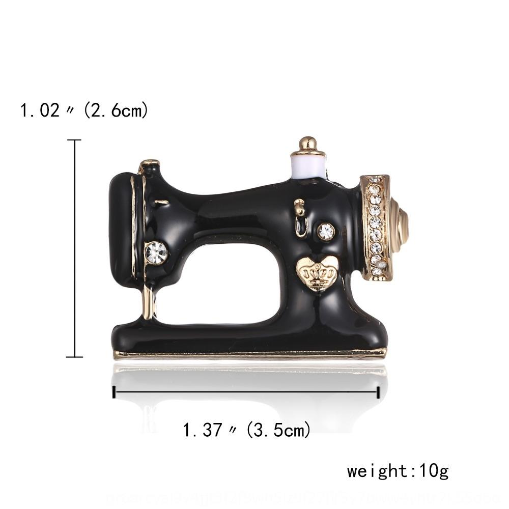 Hot-vente d'accessoires de style coréen machine à coudre gouttes d'huile de haute qualité accessoires Broche en alliage Broche