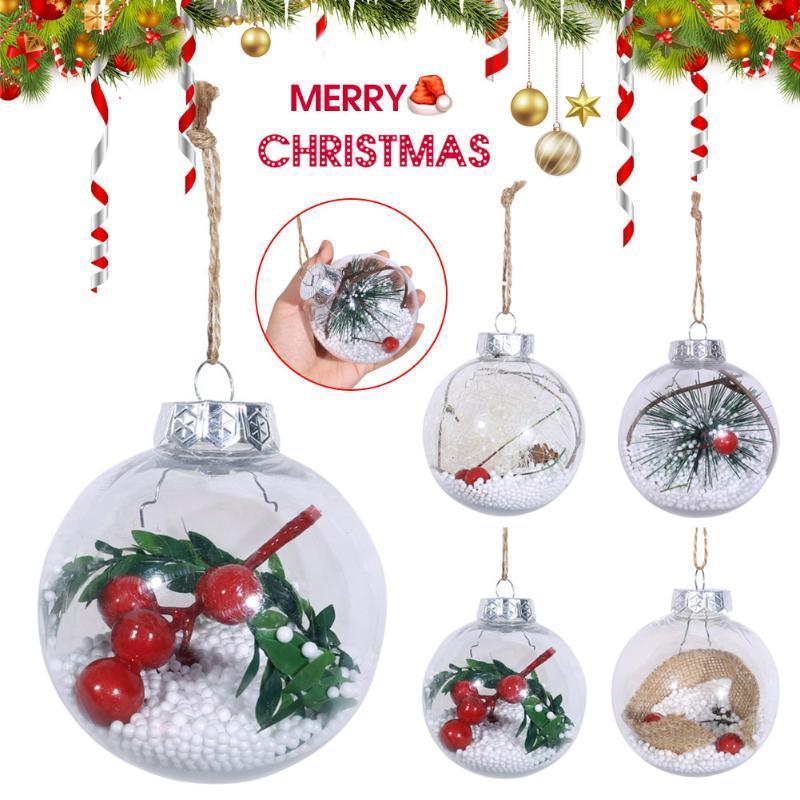 Mode Weihnachtsbaum-Anhänger-hängender Start Ornament Weihnachtsdekoration Kugel Multifunktionale GHS99