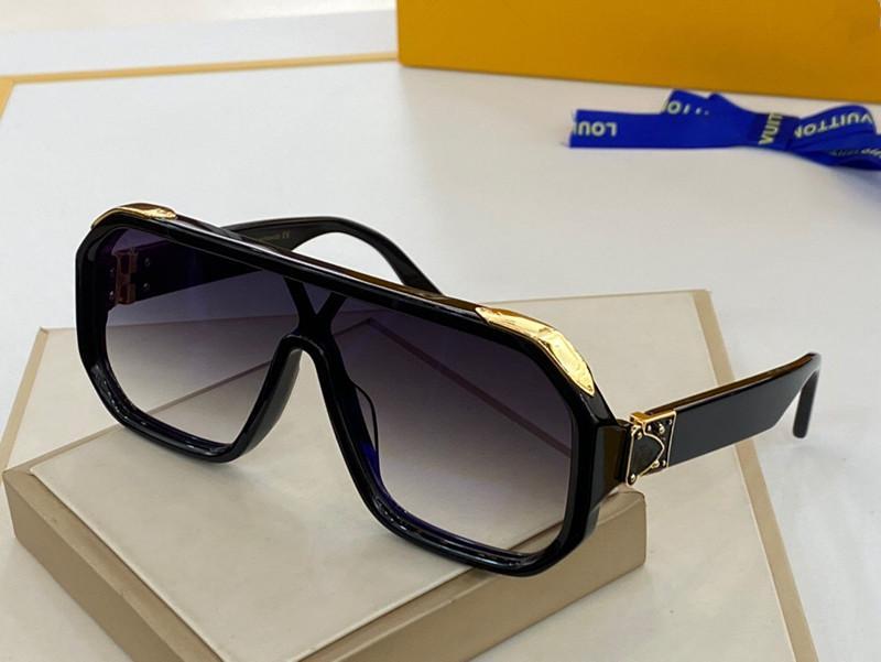 Nouveaux 1165 lunettes de soleil de marque pour les hommes plein cadre lunettes de soleil masque vintage 1.1 MILLIONNAIRE pour les hommes Logo or brillant chaud vente plaqué or Top
