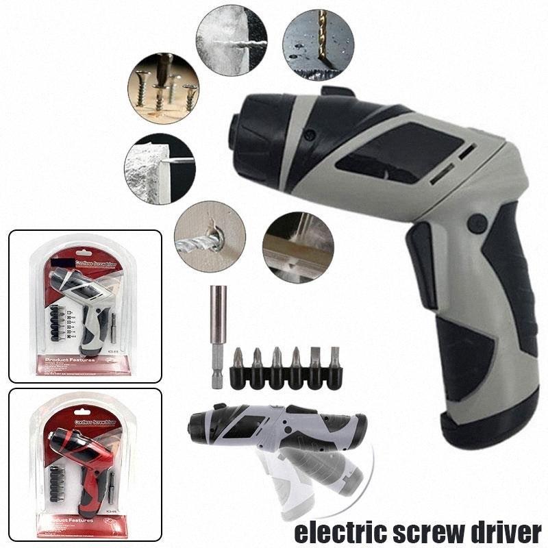 180 Rpm 2 Farbe Elektro-Bohrschrauber elektrische Bohrmaschine Durable Praktische Cutting Elektrowerkzeuge Schleifen Polieren 6V jTRF #