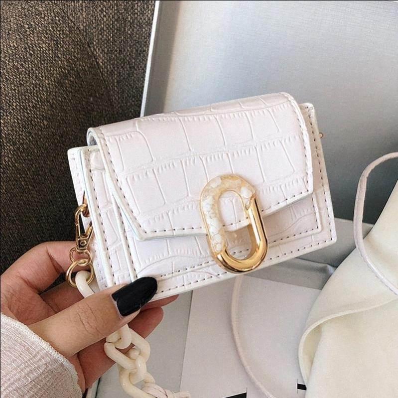 Mini-Handtasche Art und Weise Qualität PU-Leder-Damen-Frauen Handtaschen Krokodilmuster Schultertasche Messenger Bag # lSyr