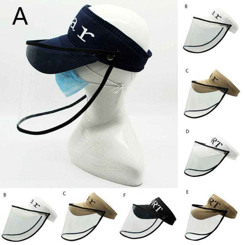 2020 sombrero de protección anti-expectoración de protección sombrero desmontable anti-vaho a prueba de polvo efectivamente desprovisto aísla Cap A50