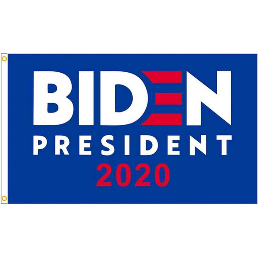 Joe Biden Bayrak 2020 Amerikan Başkanı ABD Parti Bayrağı 90 * 150cm Trump Joe Biden Seçim Bayrağı CYZ2693