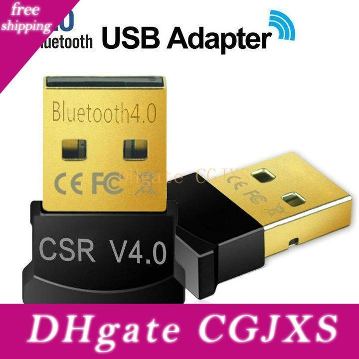 Mini USB Bluetooth Adapter V4 0,0 Dual Mode senza fili Bluetooth Dongle Csr 4 .0 di Windows 10 8 Win 7 Vista XP 32/64