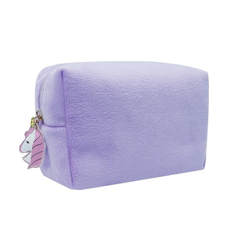kE5Rx velours et à l'automne winterplush Femmes solide sac cosmétique publicité de stockage couleur sac cadeau cosmétique cadeau qMeZE