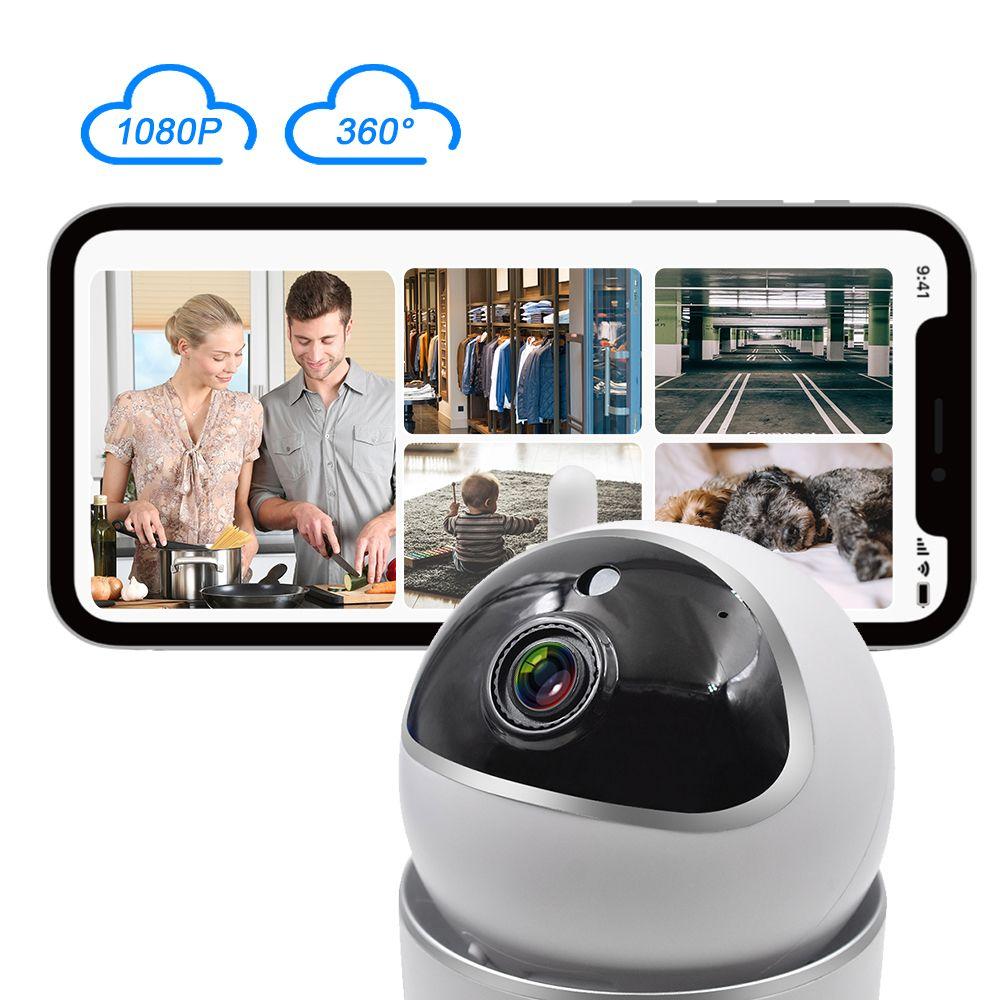 STARTRC WiFi Camera Baby Monitor 1080P камеры ИК ночного видения обнаружения движения оповещения Главная Безопасность для детей Кошки Собаки