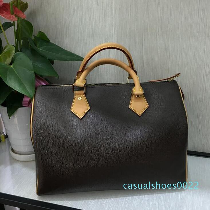 Yeni Moda Klasik Kadınlar Çanta Çanta Tasarımcısı Yüksek Kalite Deri Lüks Lady Şık Totes Alışveriş Çantaları c22