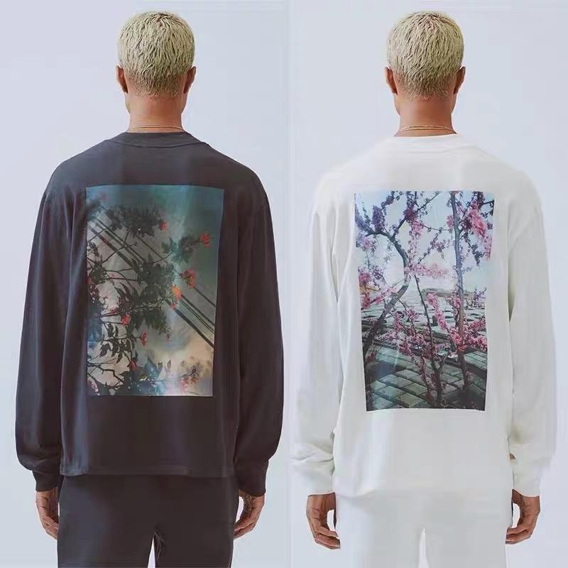 19fw Californie Limited manches longues Homme à capuche Sweatshirt Sweatshirt Crewneck Sweater Sweat Hoodies Ts0556