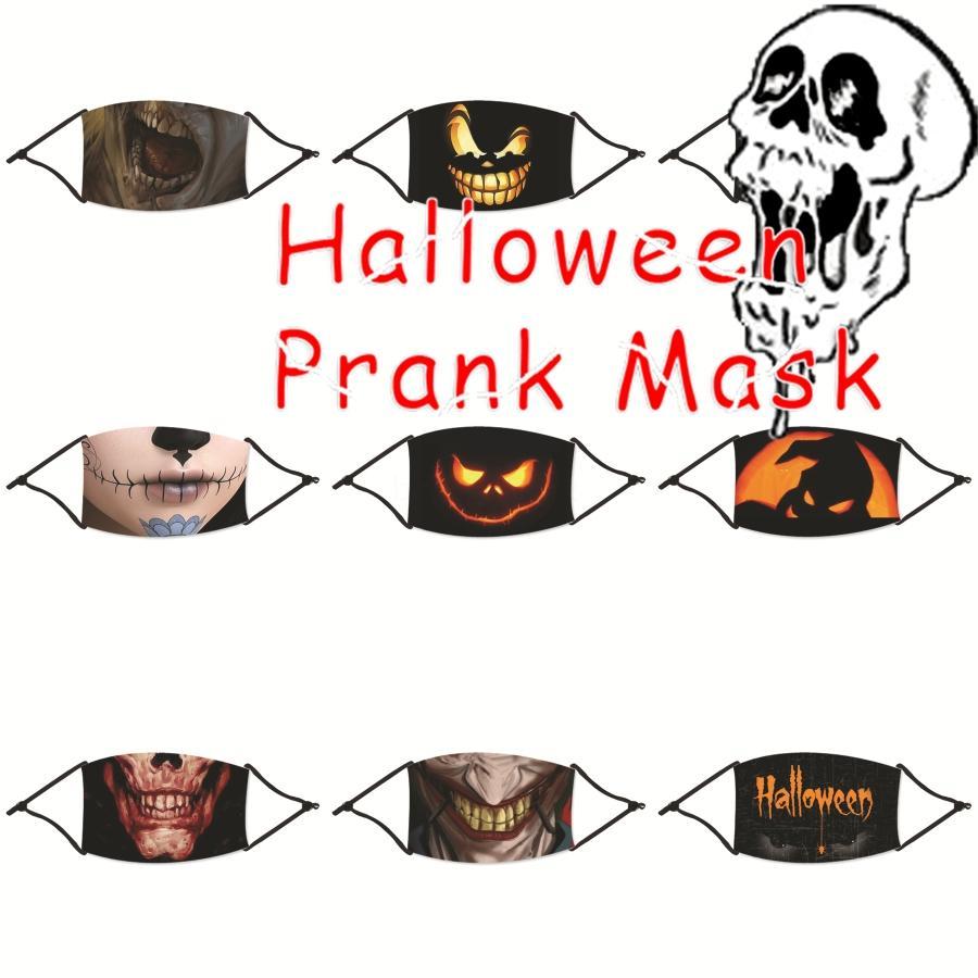 Доставка Printed Дизайнерского Halloween Party Joker Маска Костюм Cosplay Unisex взрослого Mens Аним Шутка Joker Маска 40 Стилей Лицевые маски Fy9 # 413