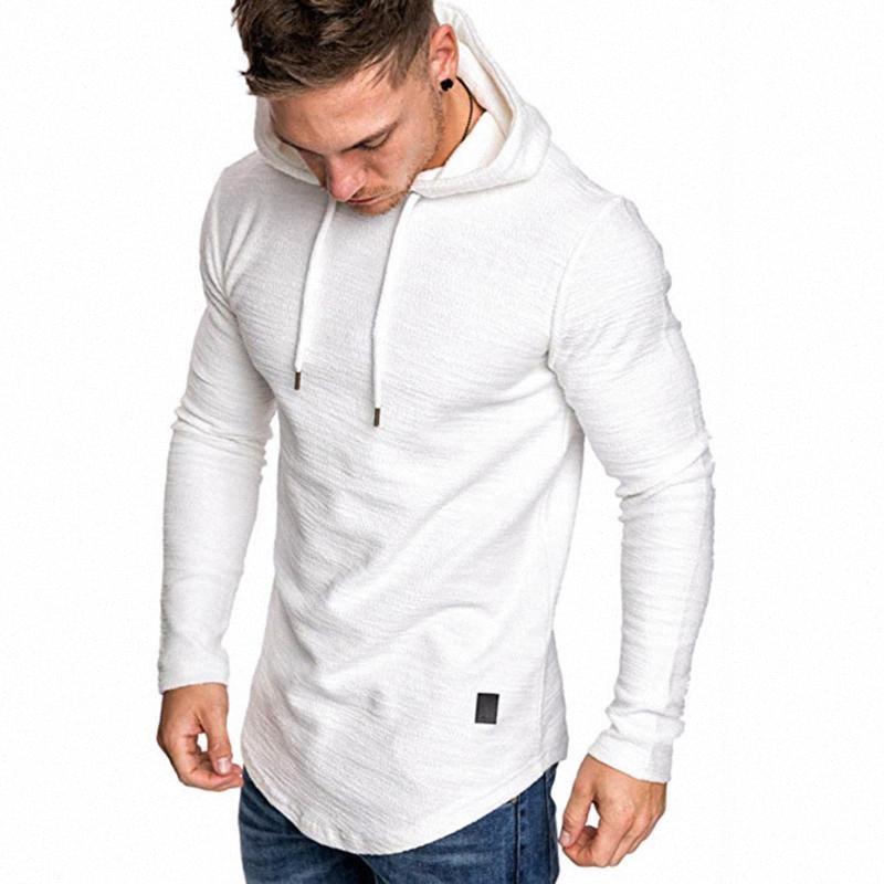 2020 2020 Men Running Hoodies Fashion Autumn Winter Casual Top Lightweight Long Sleeve Pullover Hooded Sweatshirt k6nk#