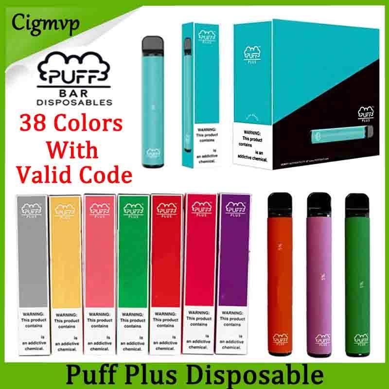Puff Plus-Einweg-Geräte-Pod Starter Kit 800 + Puff 550mAh Akku 3,2 ml Patrone Vape leeren Pen Tragbare Vaporizer PK Puff XXL Flow-Xtra