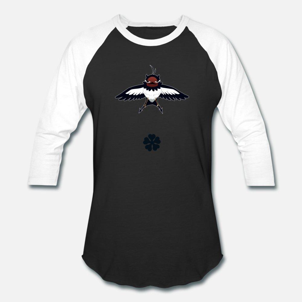 Nero Preto Clover The Devil You Know camiseta homens a impressão de algodão em torno do pescoço Original Camisa formal bonito Edifício Primavera