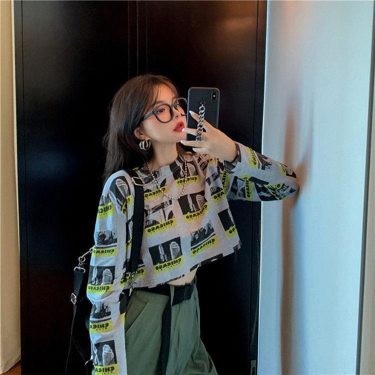 lVtxO ropa 2020 nuevo estilo fresco de alta gama otoño YPzyi ligera sensación de la mujer madura nicho temperamento diseño de dos piezas sensación Ne Hong Kong