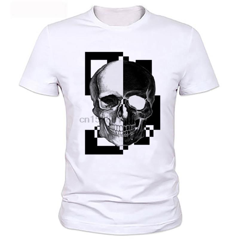 2019 Crânio PP New Verão famosa marca camiseta Homens Plus Size Vestuário