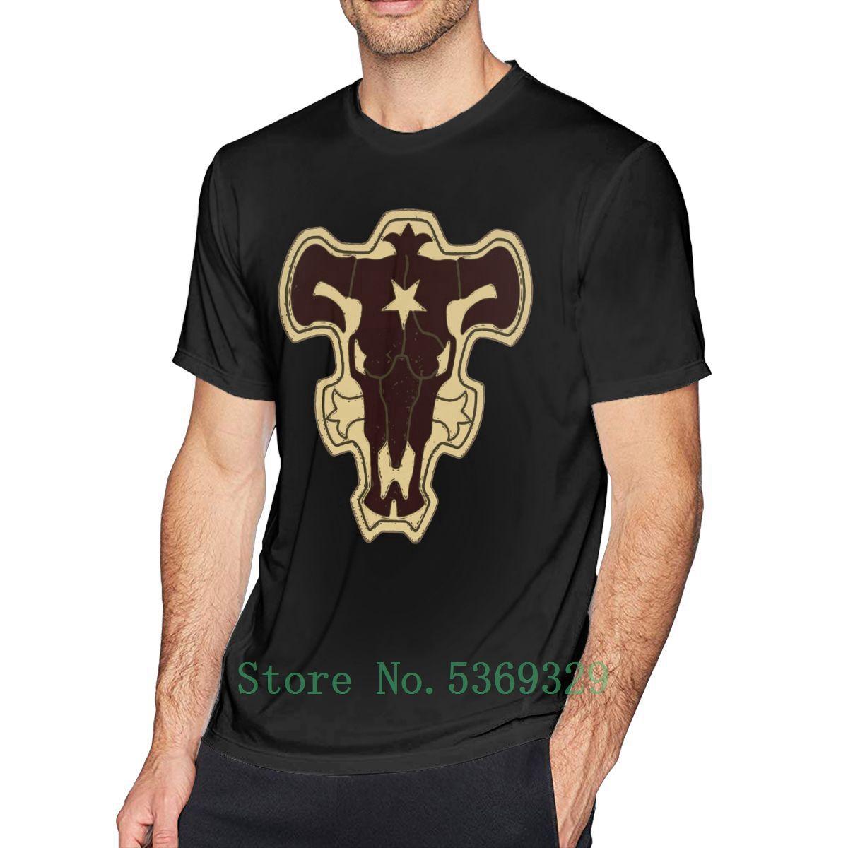 Schwarz-Klee-T-Shirt Black Bull-Gruppen-T-Shirt Kurz-Hülse 100 Prozent lustige T-Shirt aus 100% Baumwolle T-Shirt