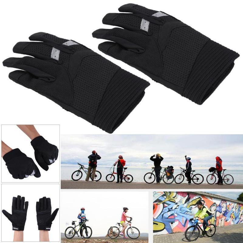 Sahoo Hommes Femmes Gants vélo tactile Plein écran doigt Cyclisme Gants en plein air Réchauffer Non-Slip