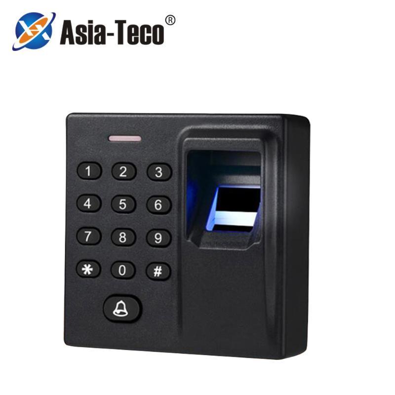 Mini Biometrische Fingerabdruck-Zugriffskontrolle Standalone-Tür-Controller Keypad Finger und Tür Eintrag Sperre D1-j